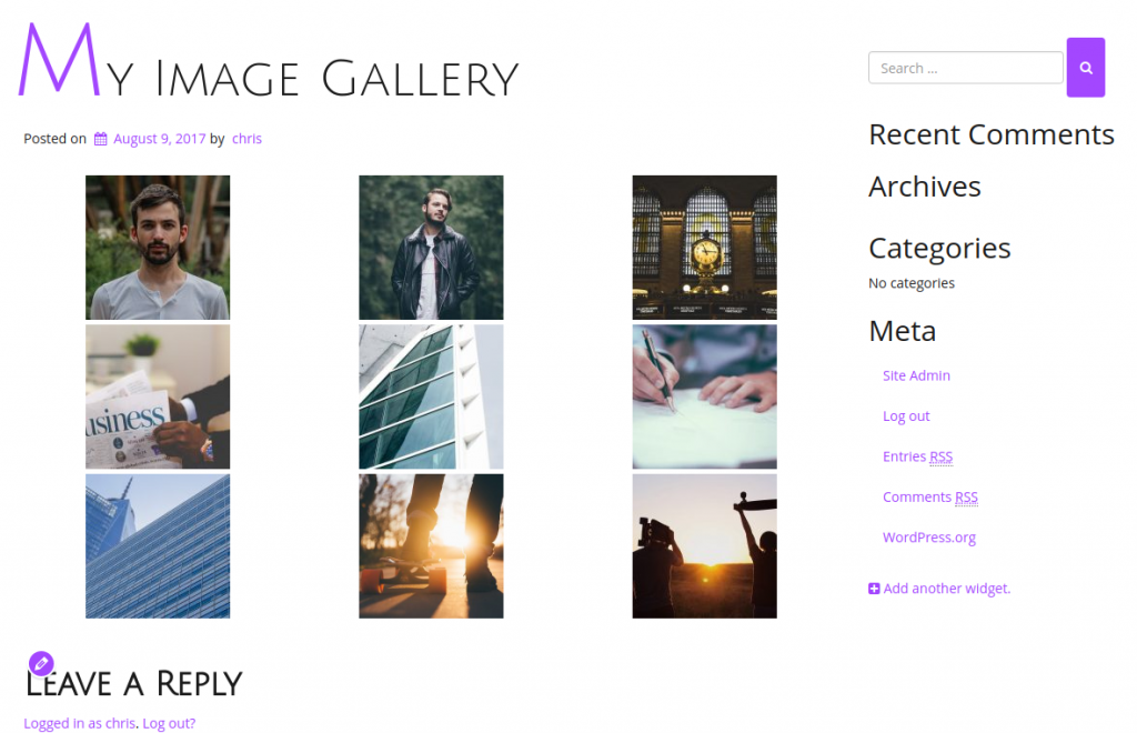 Gallery complete